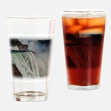 Niagara Falls 2 Drinking Glass