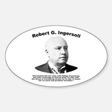 Ingersoll: Christianity Decal