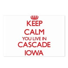 Keep calm you live in Cas Postcards (Package of 8)