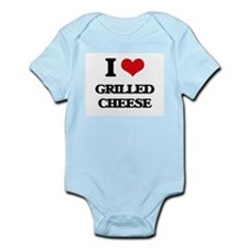 I Love Grilled Cheese ( Food ) Body Suit