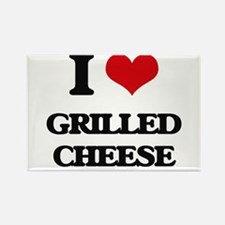 I Love Grilled Cheese ( Food ) Magnets