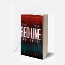 Red-Line: The Shift Book Cover 3-D I Greeting Card