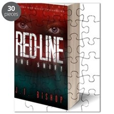 Red-Line: The Shift Book Cover 3-D Image Puzzle