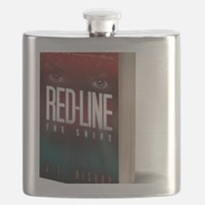 Red-Line: The Shift Book Cover 3-D Image Flask