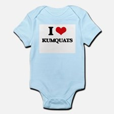 I Love Kumquats ( Food ) Body Suit