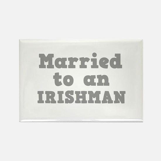 Married to an Irishman Rectangle Magnet