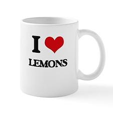 I Love Lemons ( Food ) Mugs