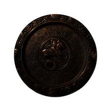 "Decor_Bronze_MedallionHorseman_x 3.5"" Button"