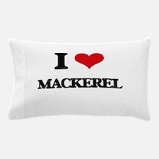 I Love Mackerel ( Food ) Pillow Case