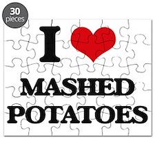 I Love Mashed Potatoes ( Food ) Puzzle