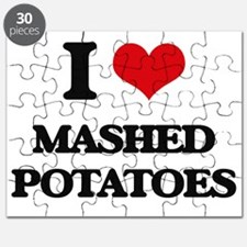 I Love Mashed Potatoes ( Food ) Puzzle