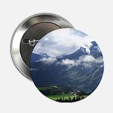Norwegian landscape Button