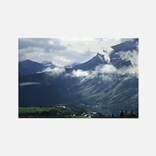Norwegian landscape Rectangle Magnet