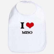 I Love Miso ( Food ) Bib