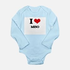 I Love Miso ( Food ) Body Suit