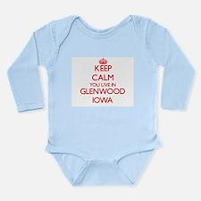 Keep calm you live in Glenwood Iowa Body Suit
