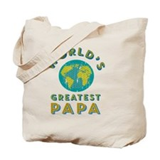 World's Greatest Papa Tote Bag