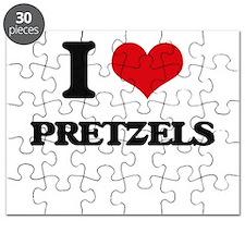 I Love Pretzels ( Food ) Puzzle