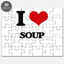I Love Soup ( Food ) Puzzle