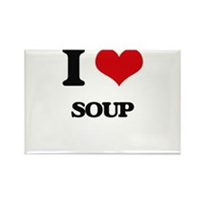I Love Soup ( Food ) Magnets