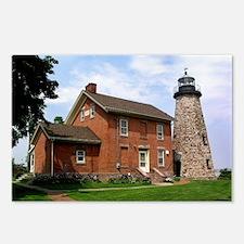 Charlotte Genesee Lighthouse Postcards (8)