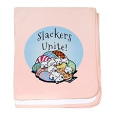 Slackers Unite baby blanket