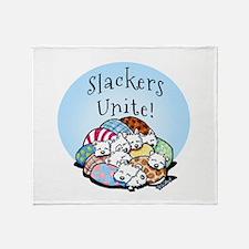 Slackers Unite Throw Blanket