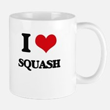 I Love Squash ( Food ) Mugs