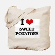 Cute Heart sweet potatoes Tote Bag