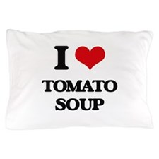 I Love Tomato Soup ( Food ) Pillow Case