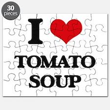 I Love Tomato Soup ( Food ) Puzzle