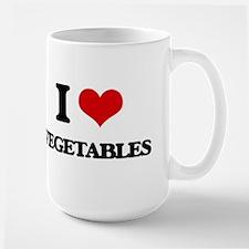 I Love Vegetables ( Food ) Mugs