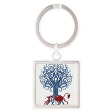 Celtic Red Horse Keychains