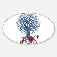 Celtic Red Horse Decal