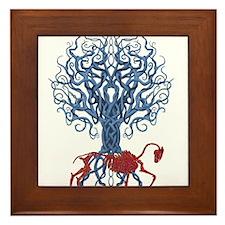 Celtic Red Horse Framed Tile