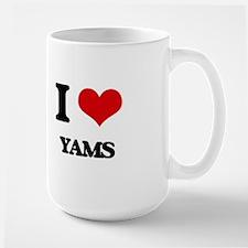 I Love Yams ( Food ) Mugs
