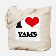 I Love Yams ( Food ) Tote Bag