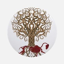 Celtic Blood Horse 2 Ornament (Round)