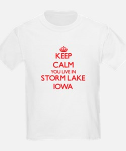 Keep calm you live in Storm Lake Iowa T-Shirt