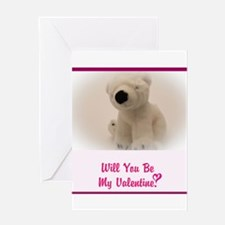 Will you be my Valentine? Greeting Cards