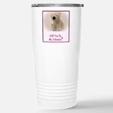 Will you be my Valentine? Travel Mug