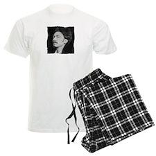 Ezra Pound White Pjs Pajamas