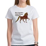Gaited Morgan Christmas Women's T-Shirt