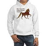 Gaited Morgan Christmas Hooded Sweatshirt