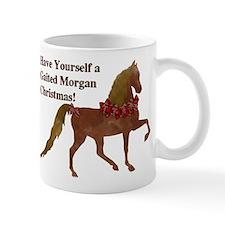 Gaited Morgan Christmas Mug