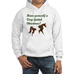 FT Very Gaited Christmas! Hooded Sweatshirt