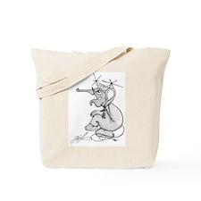 J.L. Om Girl Tote Bag