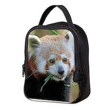 Red Panda 004 Neoprene Lunch Bag