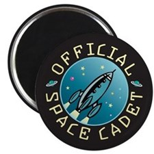 Official Space Cadet - Magnet