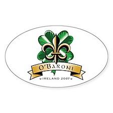 O'Baroni Oval Decal